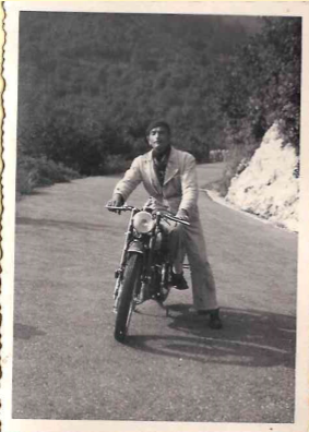 il capostipite Attilio nel 1950