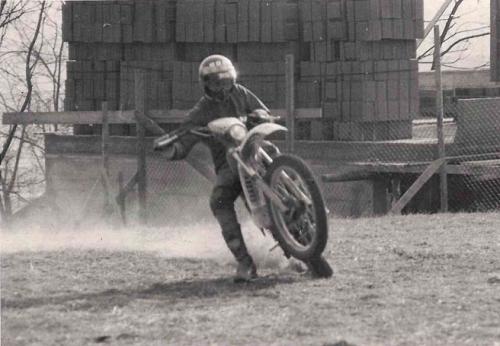 REnato a 15 anni in moto
