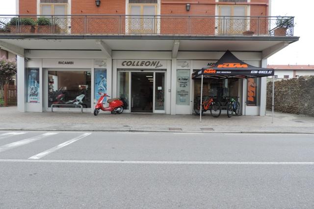 sede della e bike Bergamo di Brembate sopra