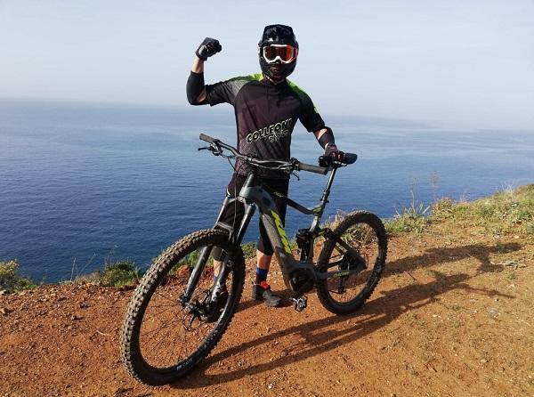 Luca sull'isola d'Elba