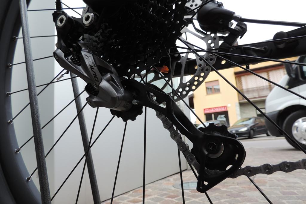 deragliatore per la bici elettrica ktm macina action 271