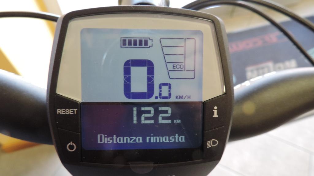 quanti km abbiamo a disposizione con l'assitenza Eco c on bici elettrica